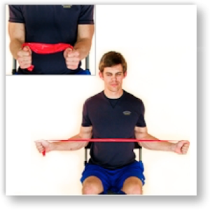 shoulder external rotation
