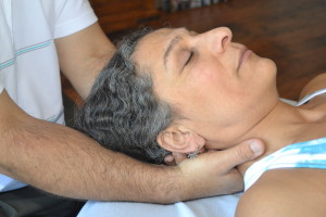 Myofascial Release treatment of head and neck