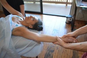 Myofascial Release treatment shoulder pain